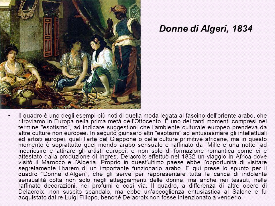 Donne di Algeri, 1834