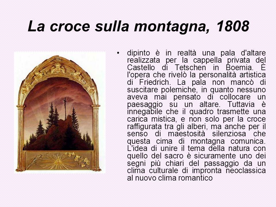 La croce sulla montagna, 1808