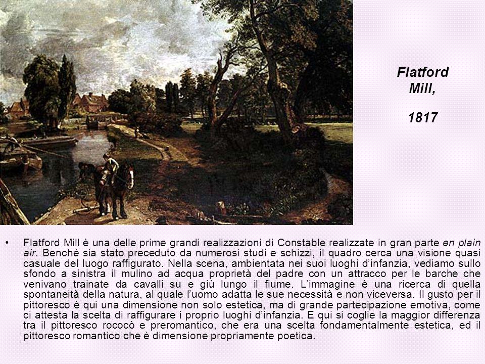 Flatford Mill, 1817