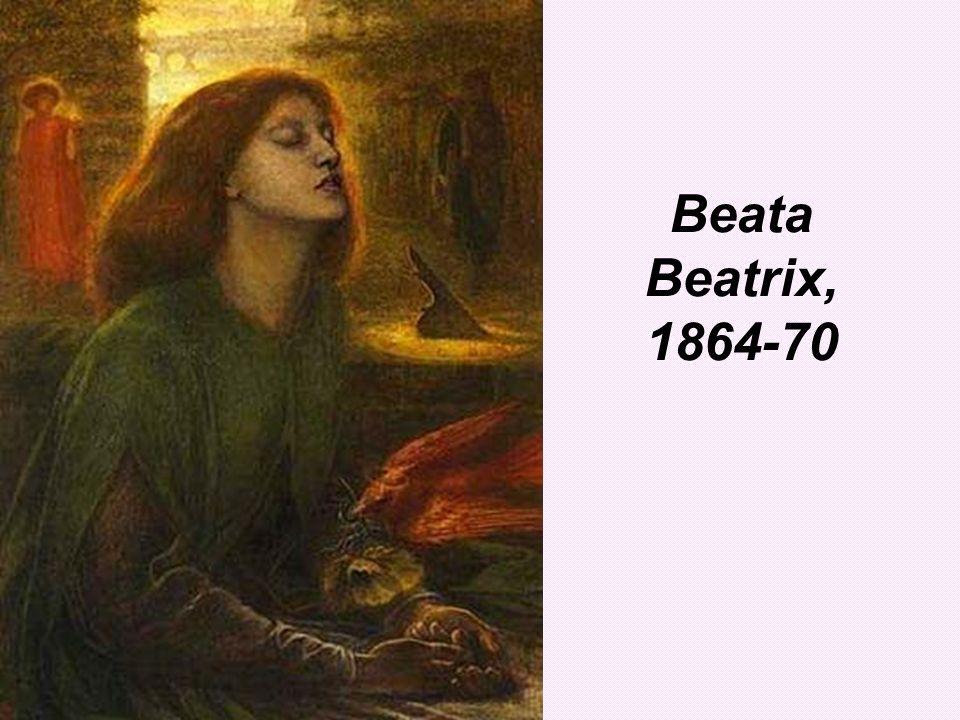 Beata Beatrix, 1864-70