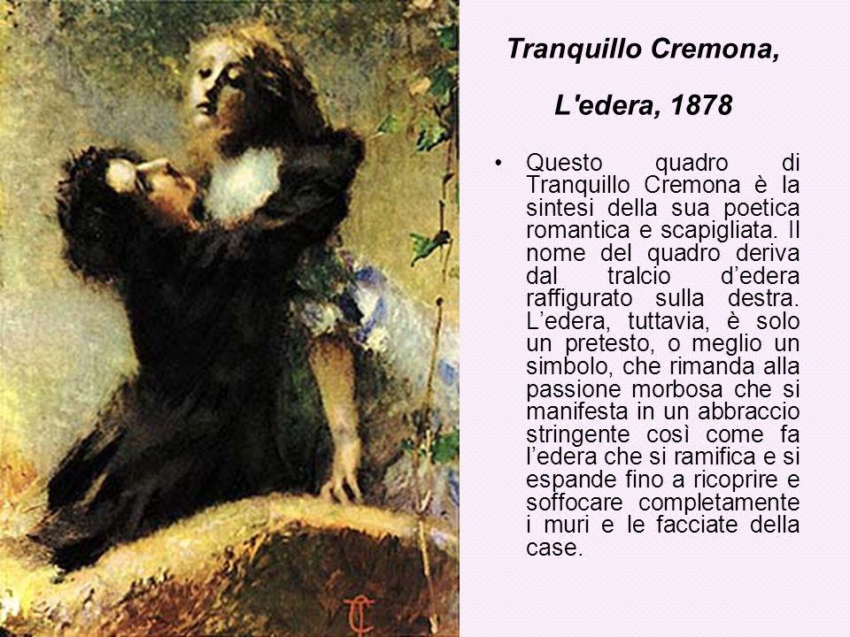 Tranquillo Cremona, L edera, 1878