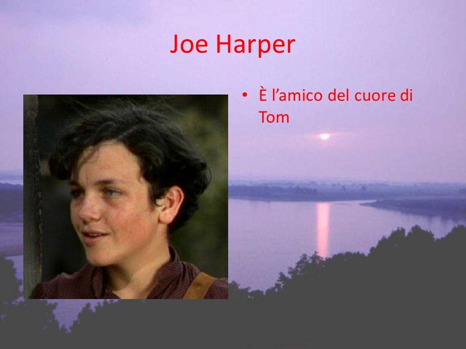 Joe Harper È l'amico del cuore di Tom