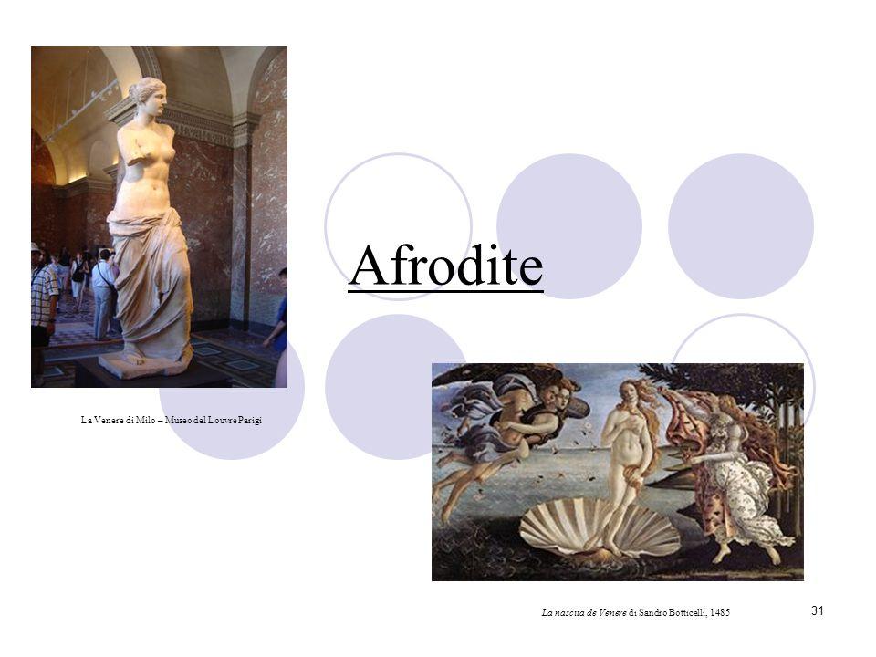 Afrodite La Venere di Milo – Museo del Louvre Parigi