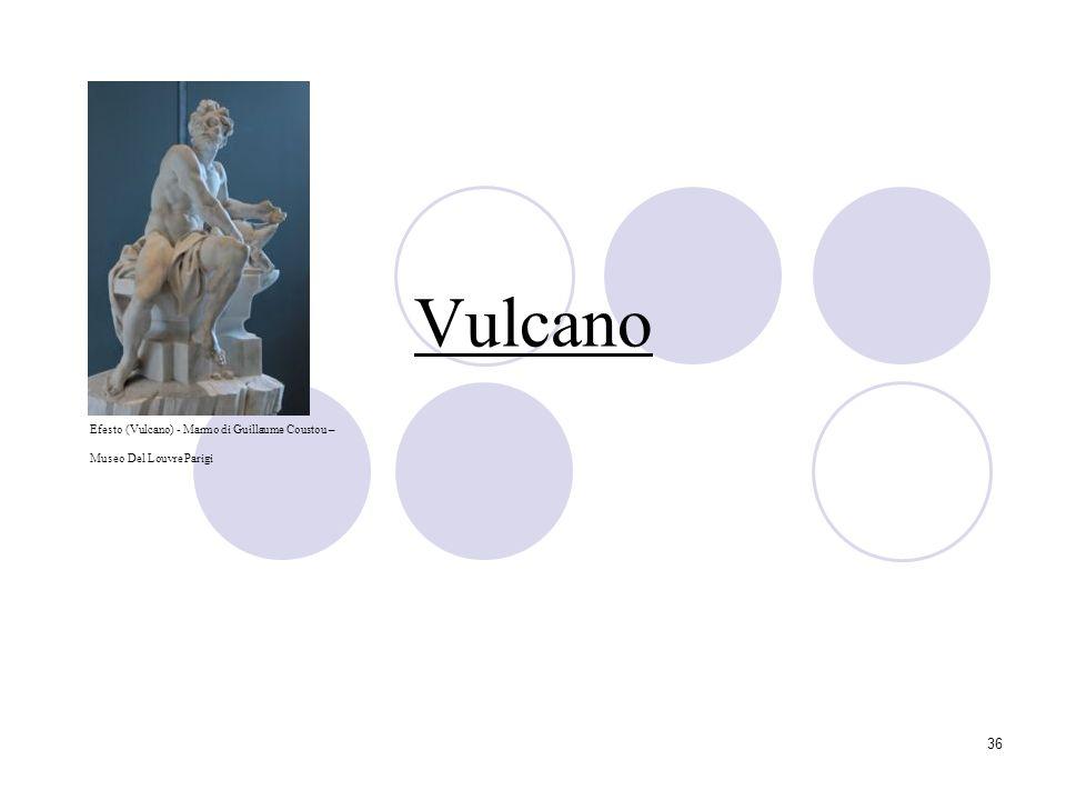 Vulcano Efesto (Vulcano) - Marmo di Guillaume Coustou –