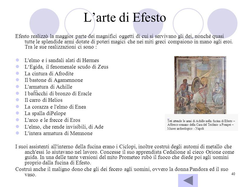 L'arte di Efesto
