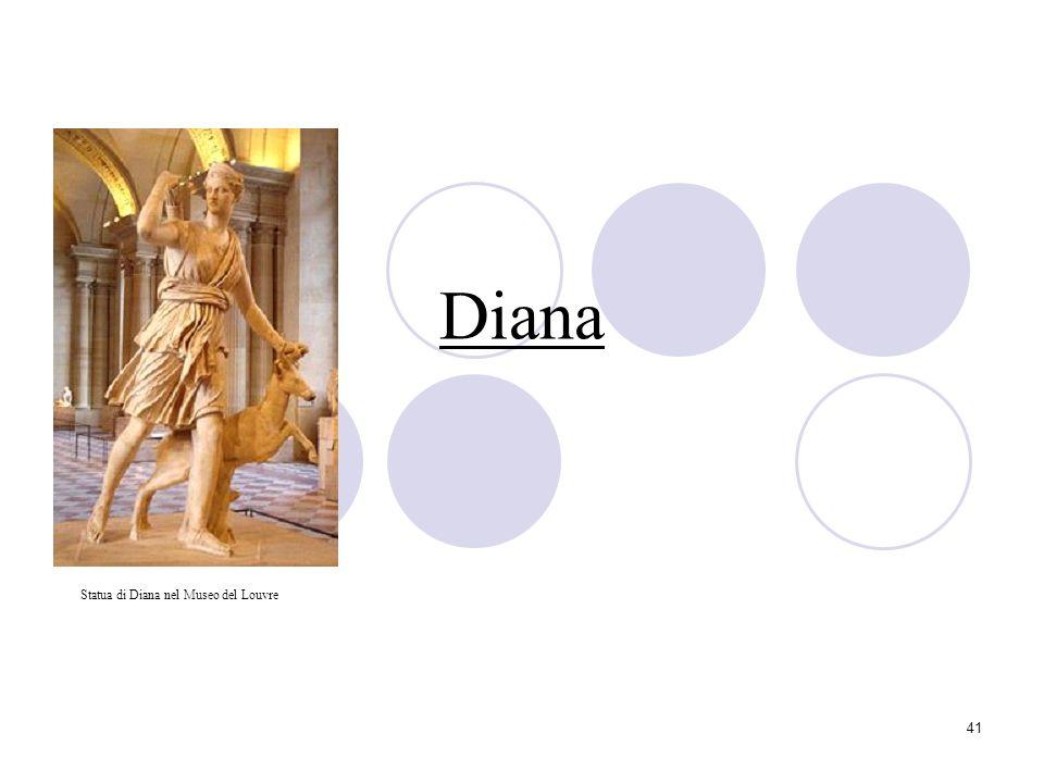 Diana Statua di Diana nel Museo del Louvre