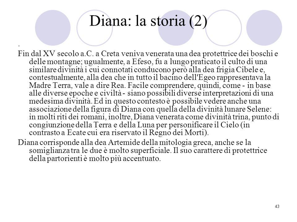 Diana: la storia (2) .
