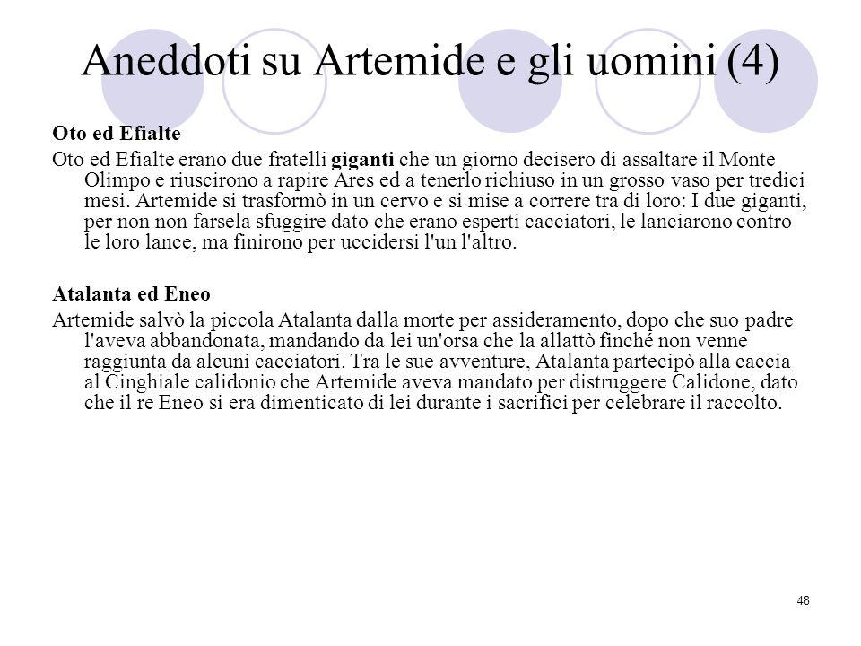 Aneddoti su Artemide e gli uomini (4)