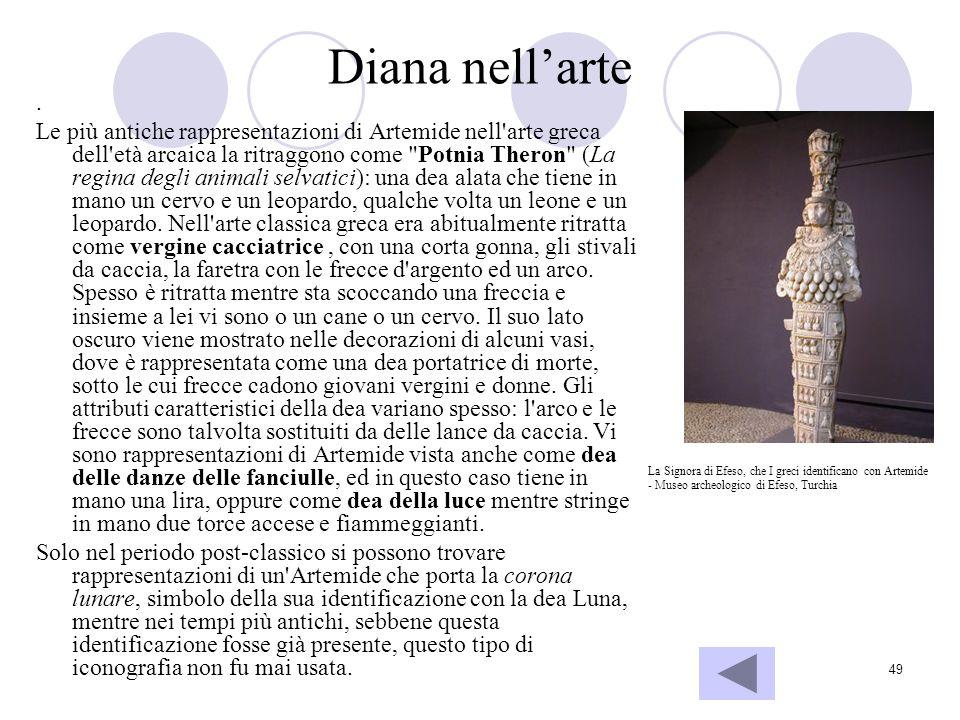 Diana nell'arte .