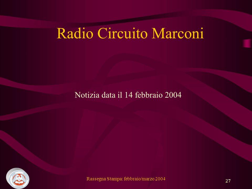 Radio Circuito Marconi