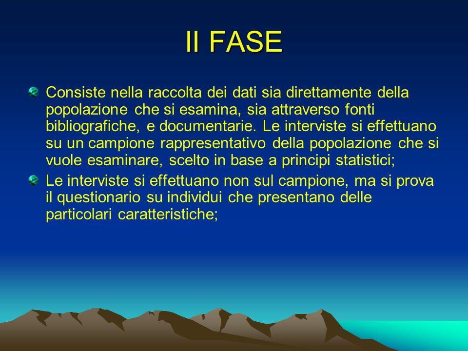 II FASE