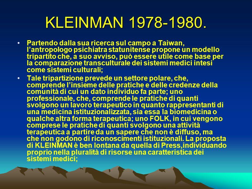 KLEINMAN 1978-1980.