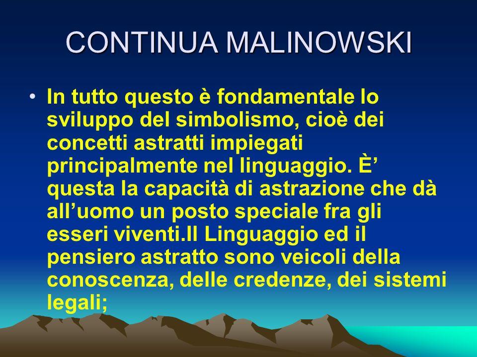 CONTINUA MALINOWSKI