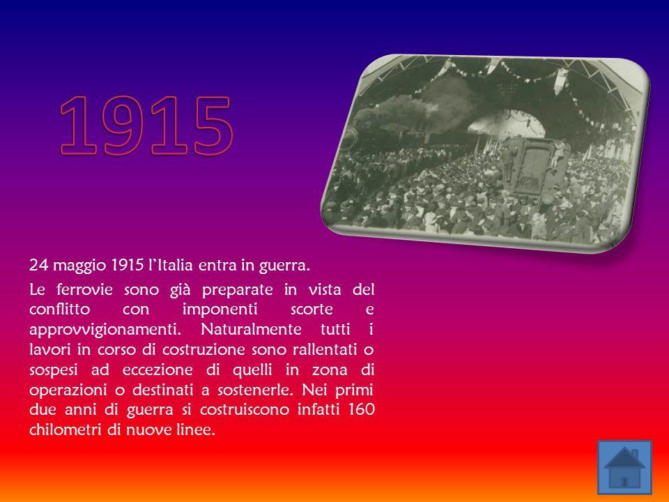 1915 24 maggio 1915 l'Italia entra in guerra.