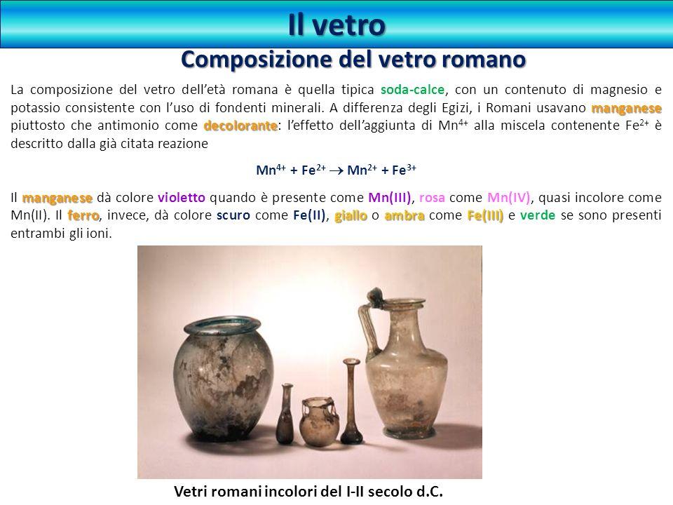 Composizione del vetro romano