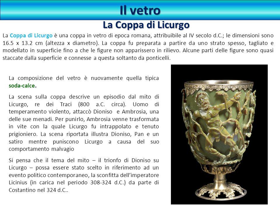 Il vetro La Coppa di Licurgo