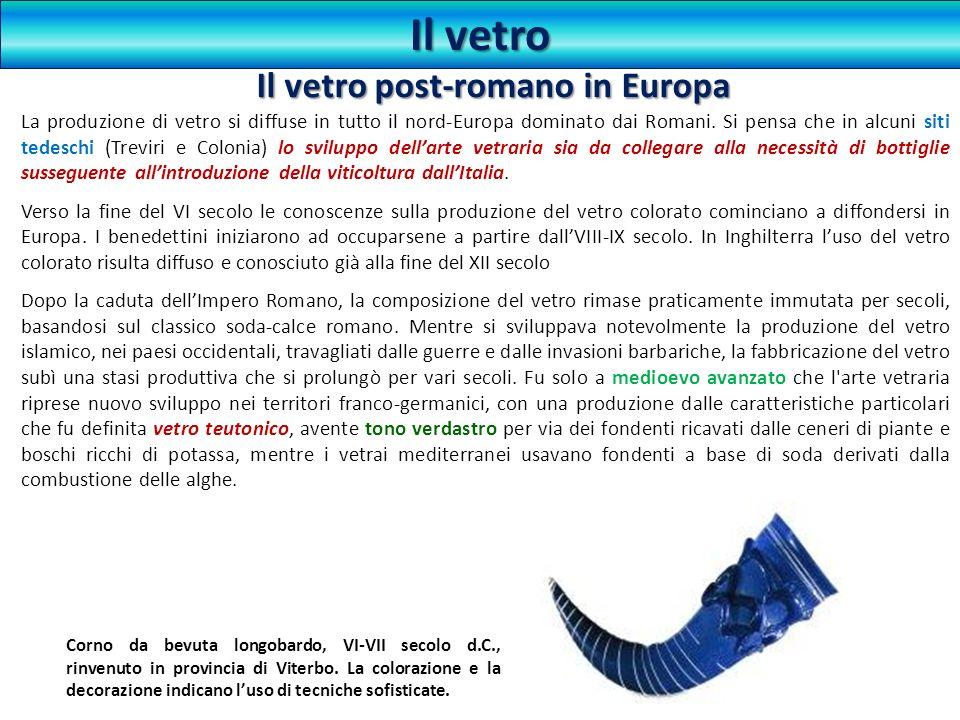 Il vetro post-romano in Europa