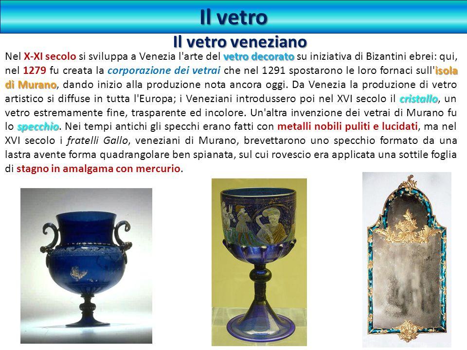 Il vetro Il vetro veneziano