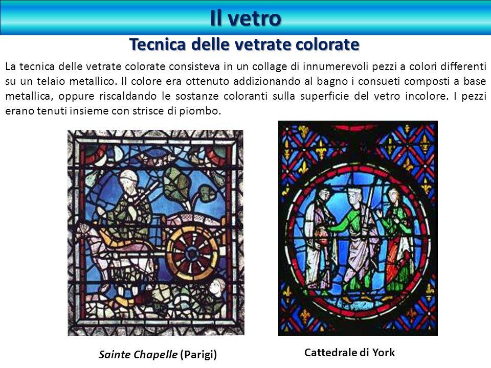 Tecnica delle vetrate colorate