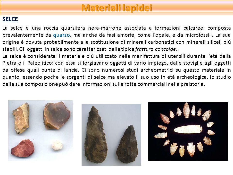 Materiali lapidei SELCE