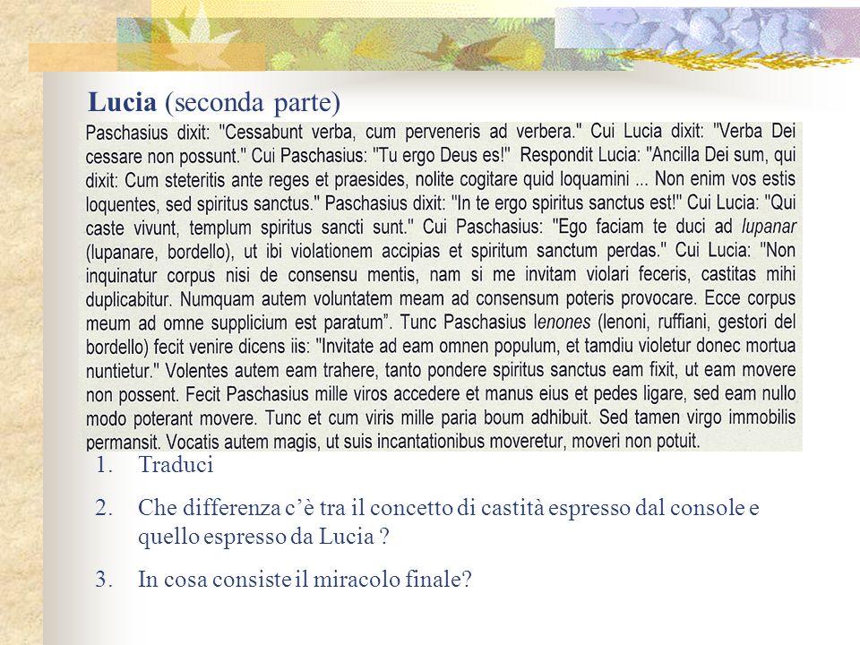 Lucia (seconda parte) Traduci