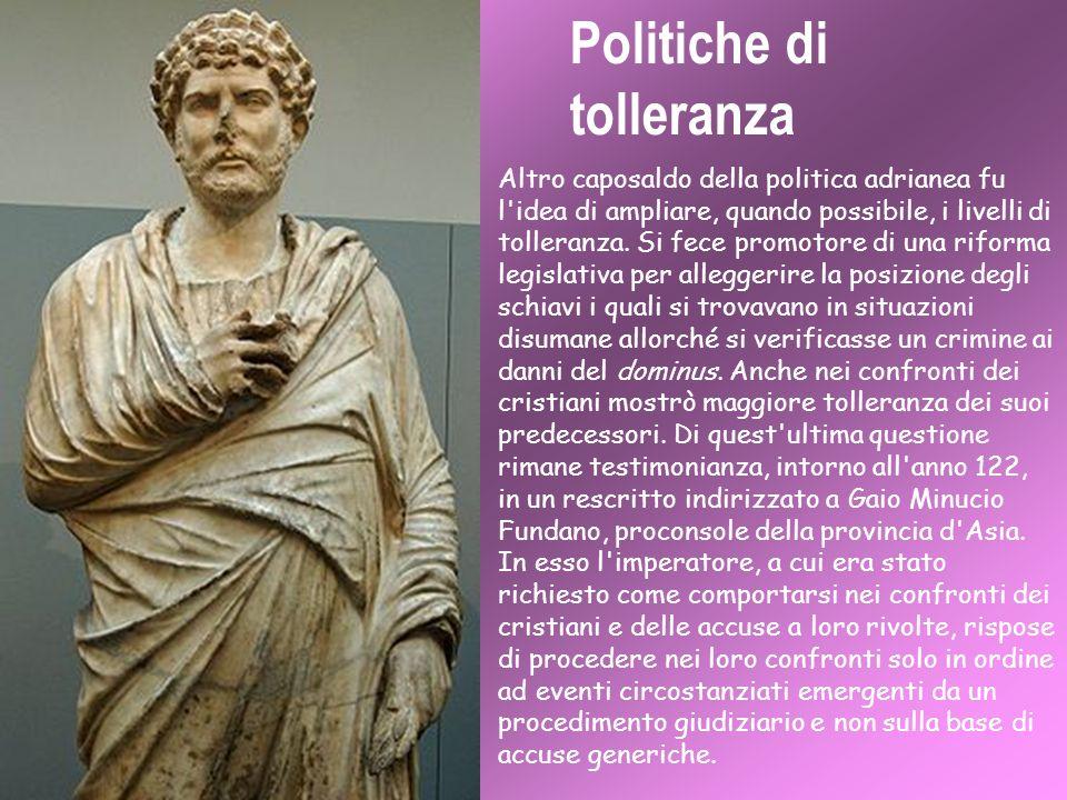 Politiche di tolleranza