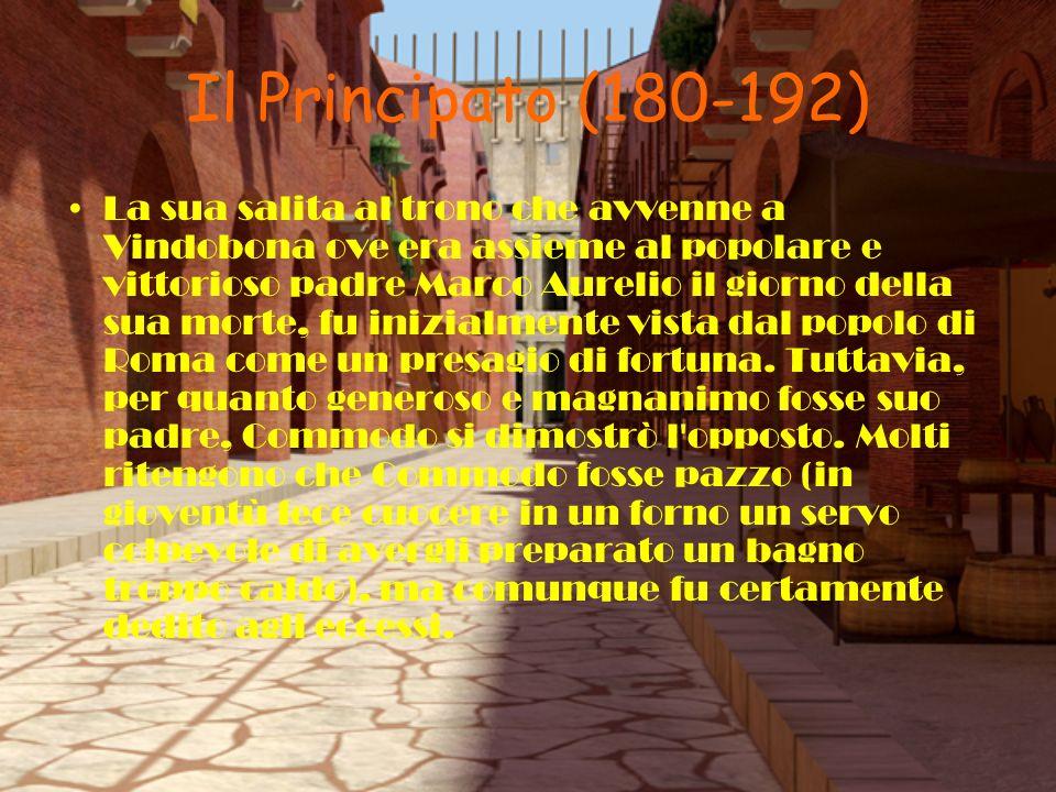 Il Principato (180-192)