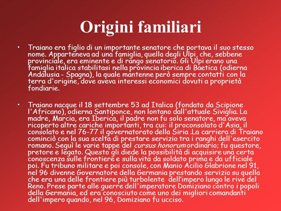 Origini familiari
