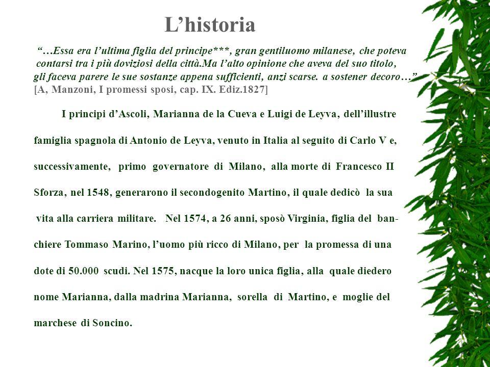 L'historia …Essa era l'ultima figlia del principe***' gran gentiluomo milanese' che poteva.