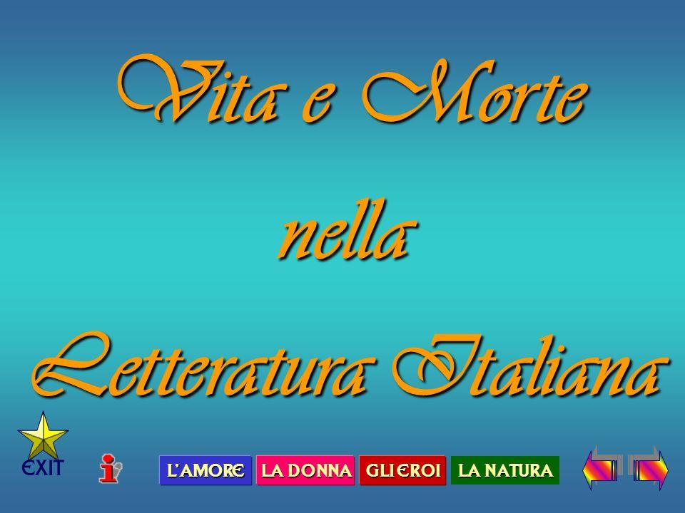 Vita e Morte nella Letteratura Italiana