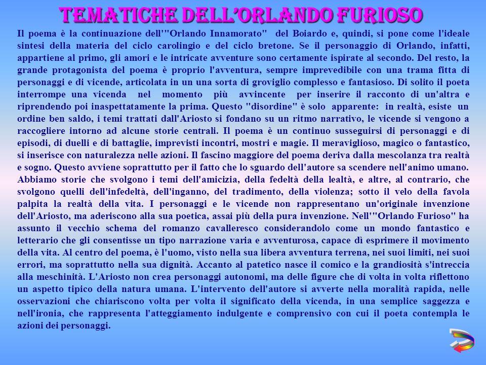 Tematiche dell'Orlando Furioso