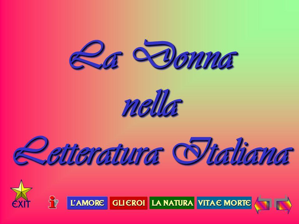 La Donna nella Letteratura Italiana