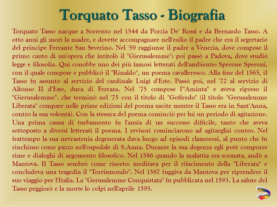 Torquato Tasso - Biografia