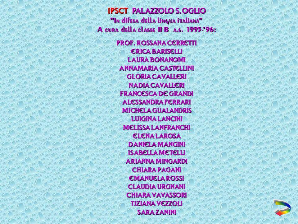 IPSCT PALAZZOLO S.OGLIO