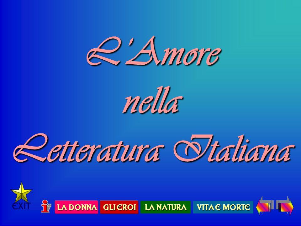 L'Amore nella Letteratura Italiana