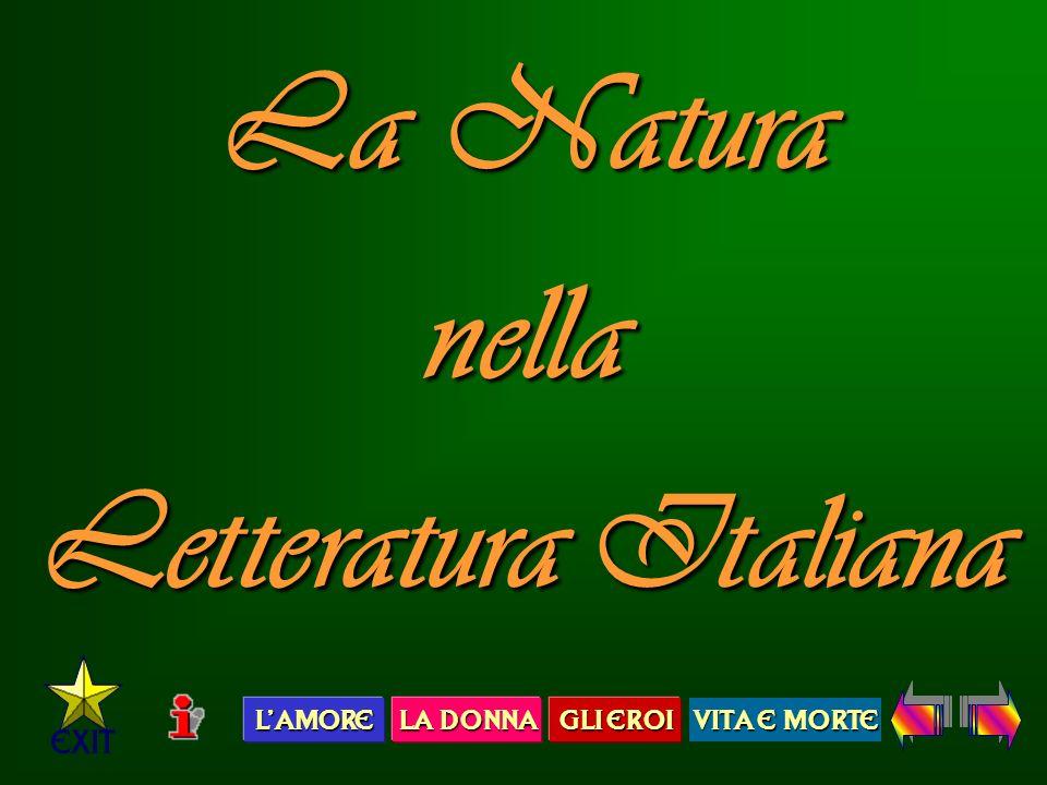La Natura nella Letteratura Italiana
