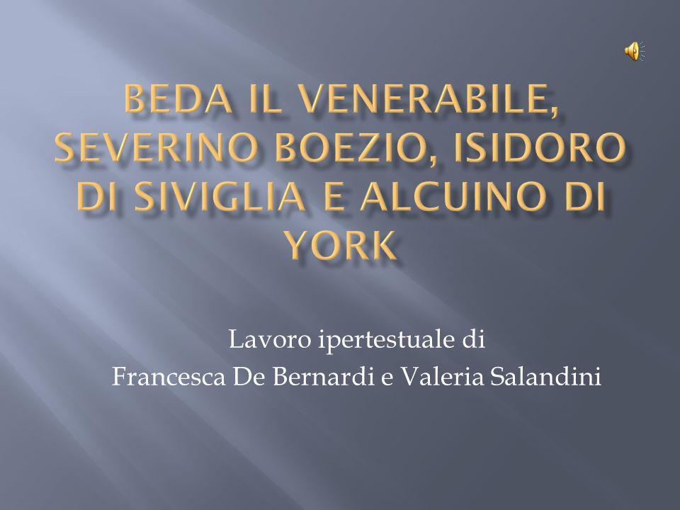 Lavoro ipertestuale di Francesca De Bernardi e Valeria Salandini