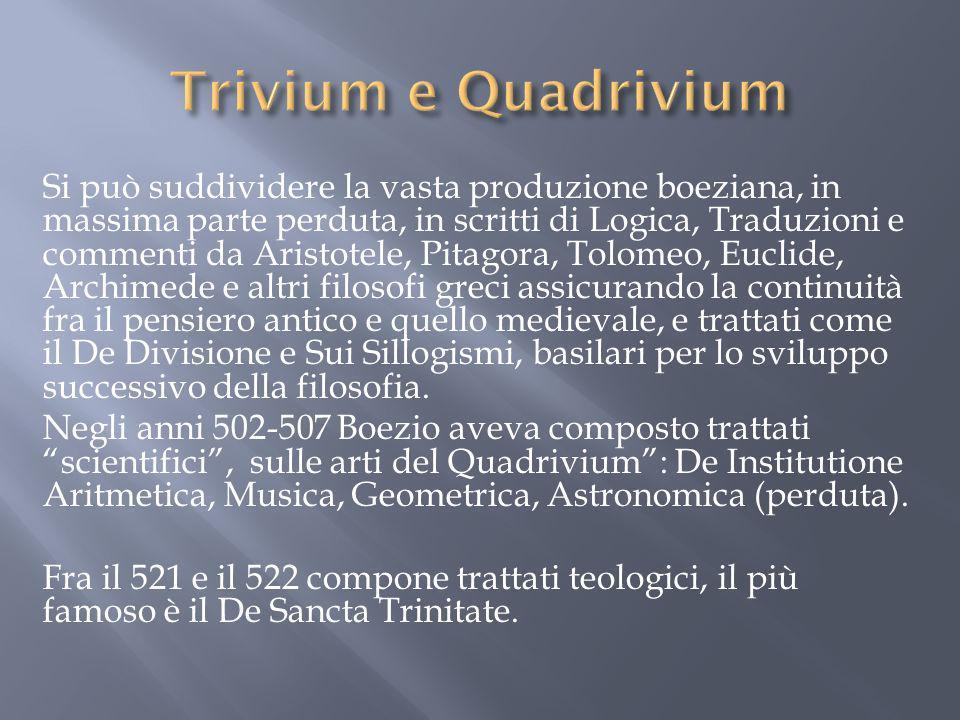 Trivium e Quadrivium