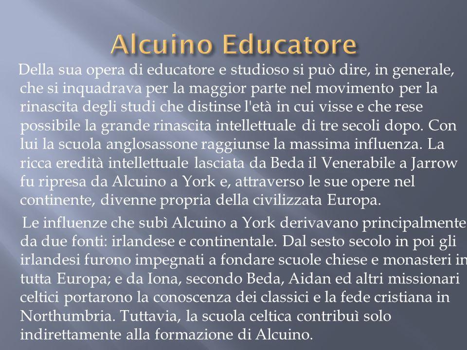 Alcuino Educatore