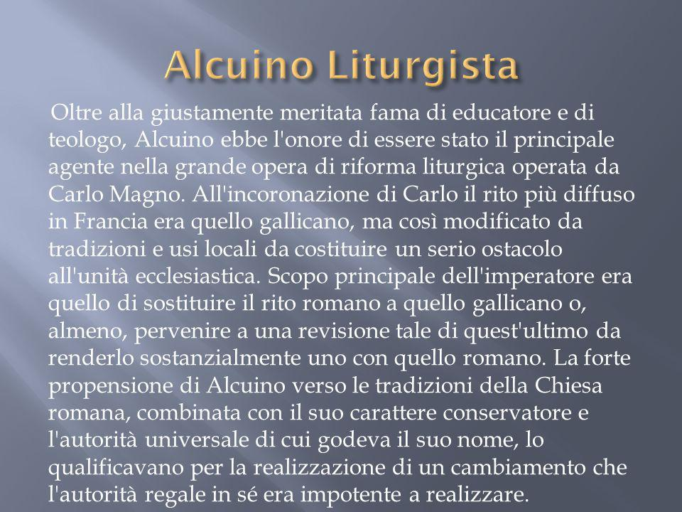 Alcuino Liturgista