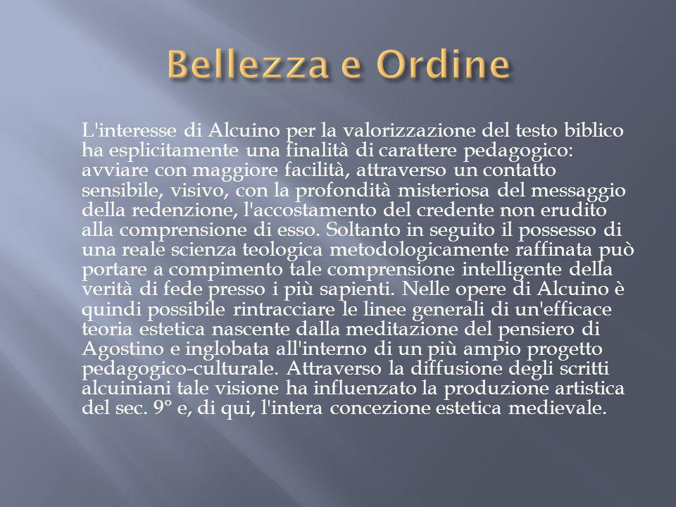 Bellezza e Ordine