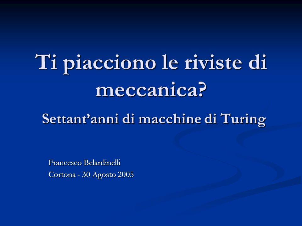 Francesco Belardinelli Cortona - 30 Agosto 2005