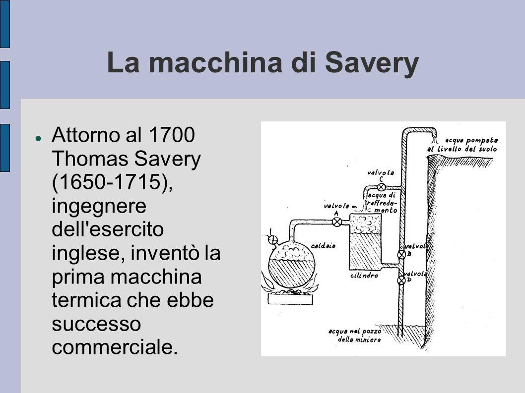 La macchina di Savery