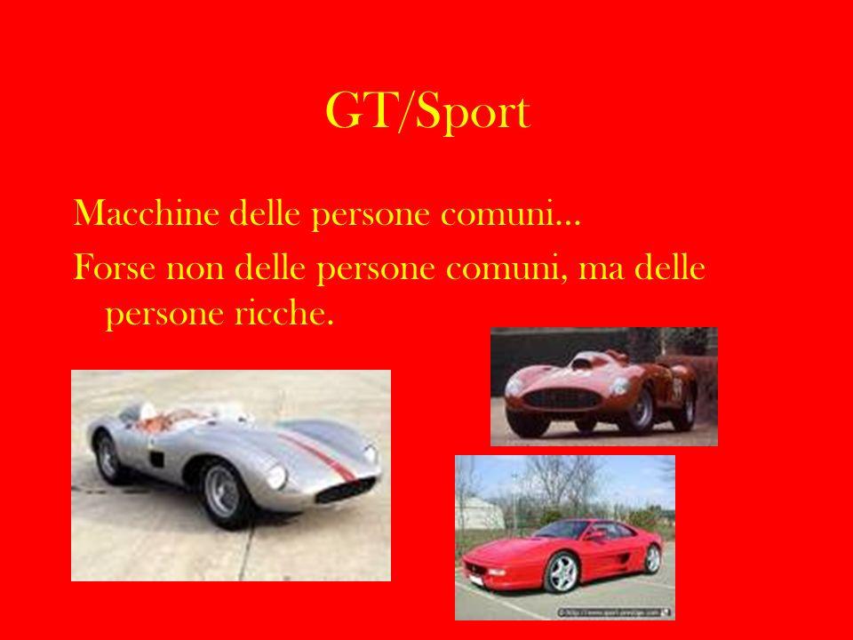GT/Sport Macchine delle persone comuni…
