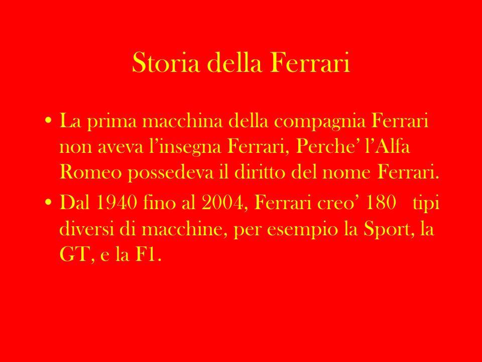 Storia della Ferrari