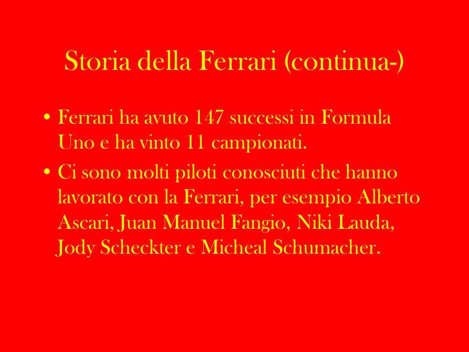 Storia della Ferrari (continua-)