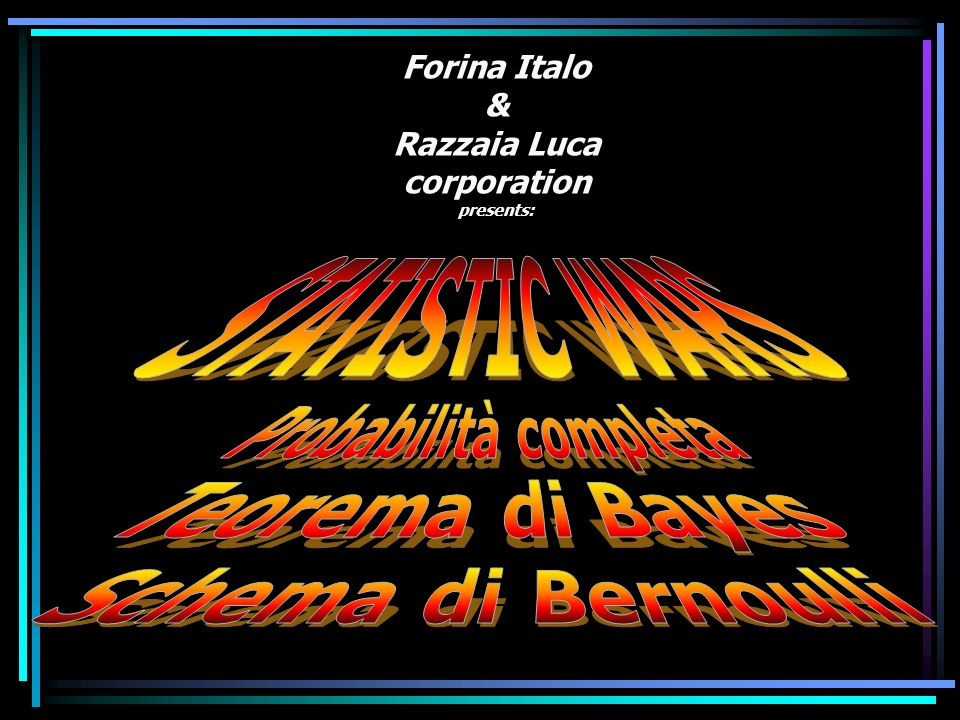 Forina Italo & Razzaia Luca corporation presents: