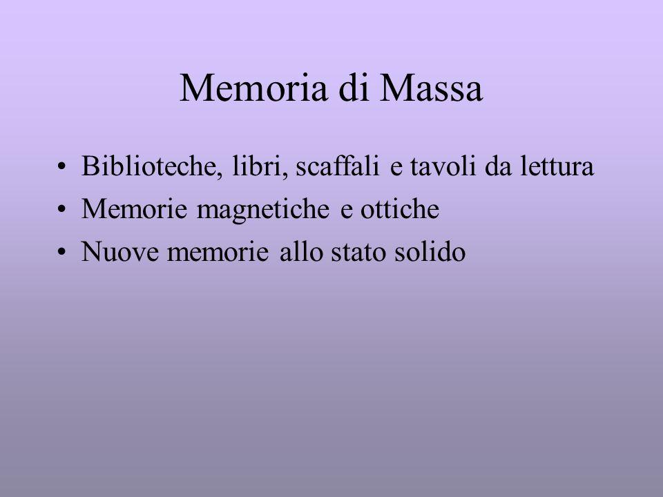 Memoria di Massa Biblioteche, libri, scaffali e tavoli da lettura