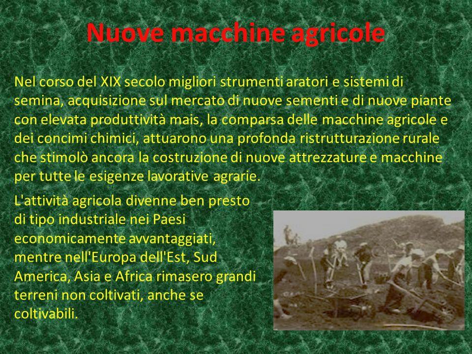 Nuove macchine agricole