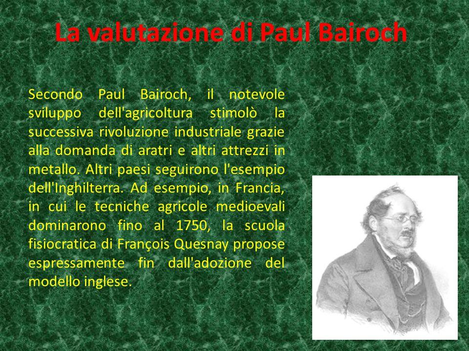 La valutazione di Paul Bairoch